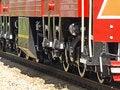 Free Locomotives Wheels. Stock Images - 19807824