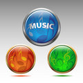 Free Musical Symbols Icon Royalty Free Stock Photography - 19808257