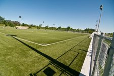 Free New Soccer Field Stock Photography - 19800032