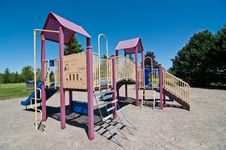 Free Park With Playground Equipment Stock Photos - 19800063