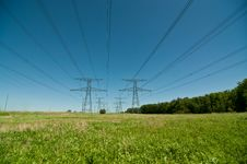 Free Electrical Towers (Electricity Pylons) Stock Photography - 19800072