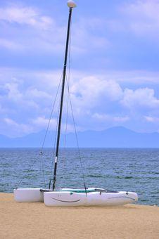 Enjoy Holiday On Sea Beach Stock Image