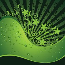 Free Green Background Royalty Free Stock Photography - 19800247