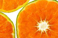 Free Tangerine Slice Royalty Free Stock Image - 19800526