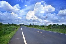 Free Road In Thailand Stock Photo - 19800730
