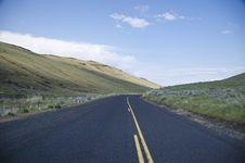 Free Paved Rural Road Royalty Free Stock Photos - 19800738