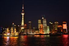 Free Night Of Shanghai Stock Image - 19802111