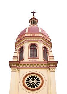 Santa Cruz Church In Bangkok, Thailand Royalty Free Stock Photography
