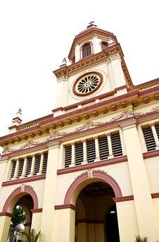 Santa Cruz Church In Bangkok, Thailand Royalty Free Stock Photo