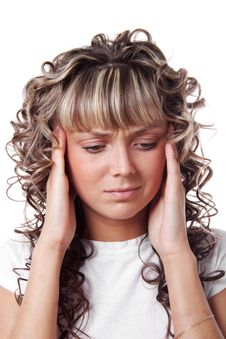 Free Headache | Isolated Stock Image - 19803361