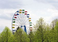 Free Ferris Wheel In Amusement Park Stock Image - 19803941