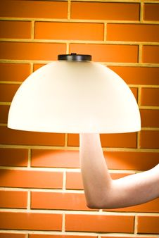 Free Hand Lamp Royalty Free Stock Photo - 19804345