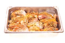 Free Fat Spiced Grilled Chicken Stock Photography - 19804872
