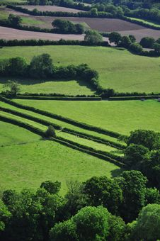 Free Devon Farmland Royalty Free Stock Image - 19805196