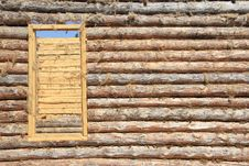 Free Door In A Wooden House Stock Photography - 19805932