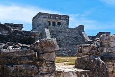 Free The Castle, El Castillo, Tulum) Stock Photo - 19805960