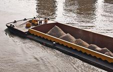 Free River Cargo Ship Bow Stock Photos - 19806153