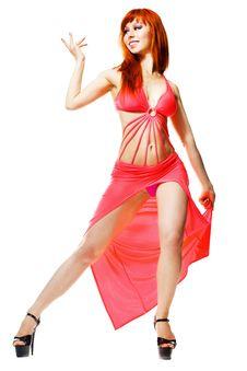 Free Modern Style Dancer Posing Stock Image - 19807061