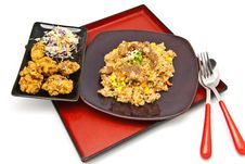 Bento, Japanese Food Style Royalty Free Stock Photos