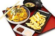 Bento, Japanese Food Style Royalty Free Stock Photography