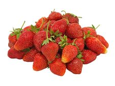 Free Fresh Strawberry.Isolated. Royalty Free Stock Images - 19807849