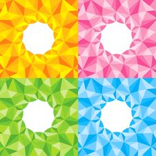 Free Four Bright Abstract Background Royalty Free Stock Photo - 19807865
