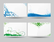 Free Business Card Designs Stock Photo - 19807870
