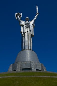 Free The Monument Of Mother Motherland In Kiev Stock Images - 19808454