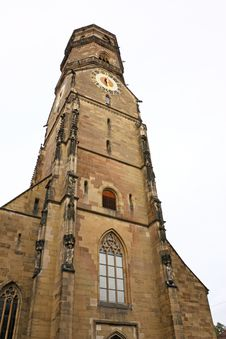 Free Church Tower Royalty Free Stock Image - 19808766