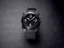 Stylish Contemporary Wrist Watch Royalty Free Stock Images