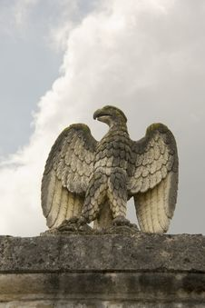 Eagle Marble Royalty Free Stock Photo