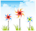 Free Pinwheel On Sky Stock Photo - 19811570