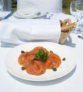 Free Gourme Lunch With Salmon Royalty Free Stock Image - 19812466