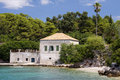 Free Croatia: House By The Adriatic Sea Royalty Free Stock Photography - 19812657