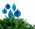Free Blue Christmas Decoration Royalty Free Stock Images - 19819649
