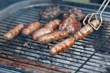 Free BBQ Sauages Stock Photos - 19810133