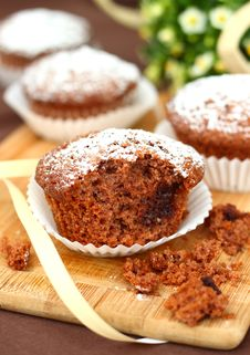 Free Chocolate Muffins Stock Photos - 19810383