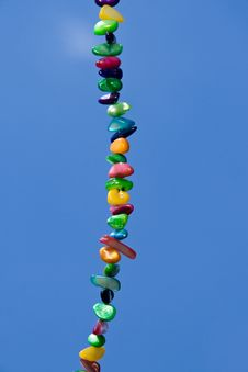 Free Colors Pearls On The Blue Skies Stock Photos - 19810503