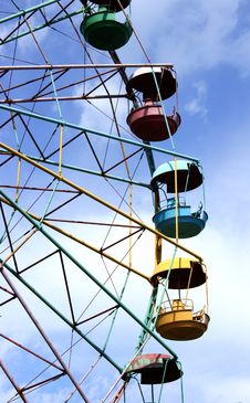 Free Observation Wheel Royalty Free Stock Photo - 19810795