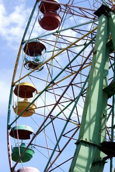 Observation Wheel Royalty Free Stock Images