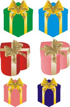 Free Gift Boxes Royalty Free Stock Images - 19811649