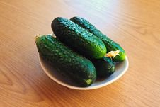 Free Fresh Cucumbers Stock Images - 19811844