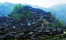 Free The Miao National Minority People Live Place Royalty Free Stock Photos - 19812198