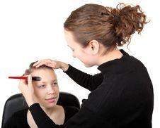 Free Makeup Process  Shot �18 Stock Photo - 19812490