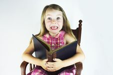 Free Reading Is Exciting Royalty Free Stock Photography - 19812507