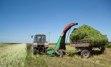 Free Tractor Royalty Free Stock Image - 19812866