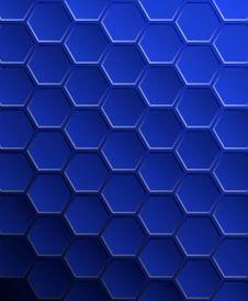 Free Background Of Hexagons. Stock Photos - 19813333