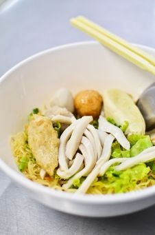 Free Asian Style Noodle Stock Photography - 19813682