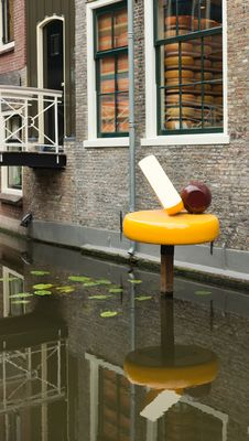 Free Little Cheese Factory In Gouda (NL) Royalty Free Stock Photos - 19813758