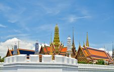 Golden Buddha Temple In Grand Palace Royalty Free Stock Photos